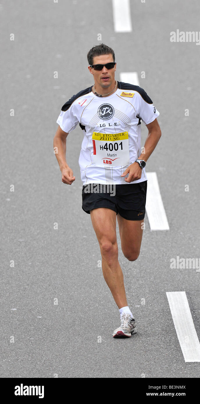 Martin Beckmann, Germany, Category Winner, Stuttgart Half Marathon, Baden-Wuerttemberg, Germany, Europe - Stock Image