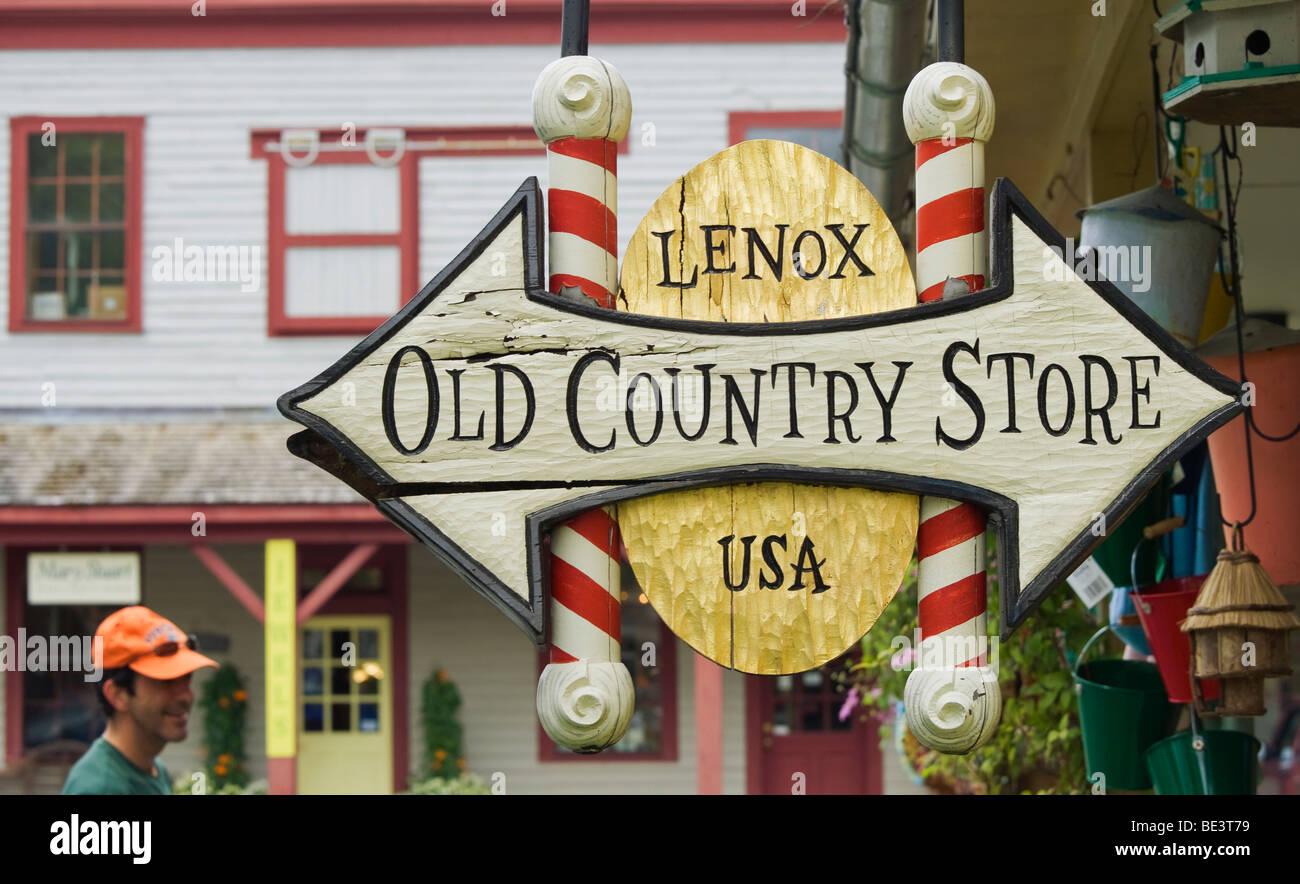 Lenox New England Massachussetts America US USA - Stock Image
