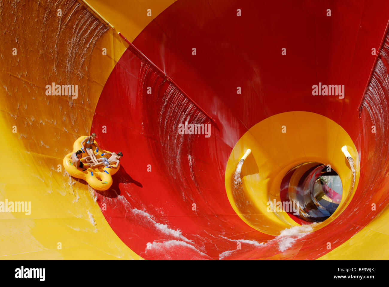 Water park ride - Stock Image