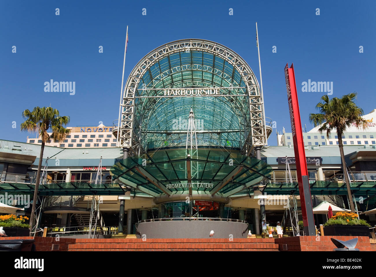 The Harbourside complex - a popular shopping district at Darling Harbour. Sydney, New South Wales, AUSTRALIA - Stock Image