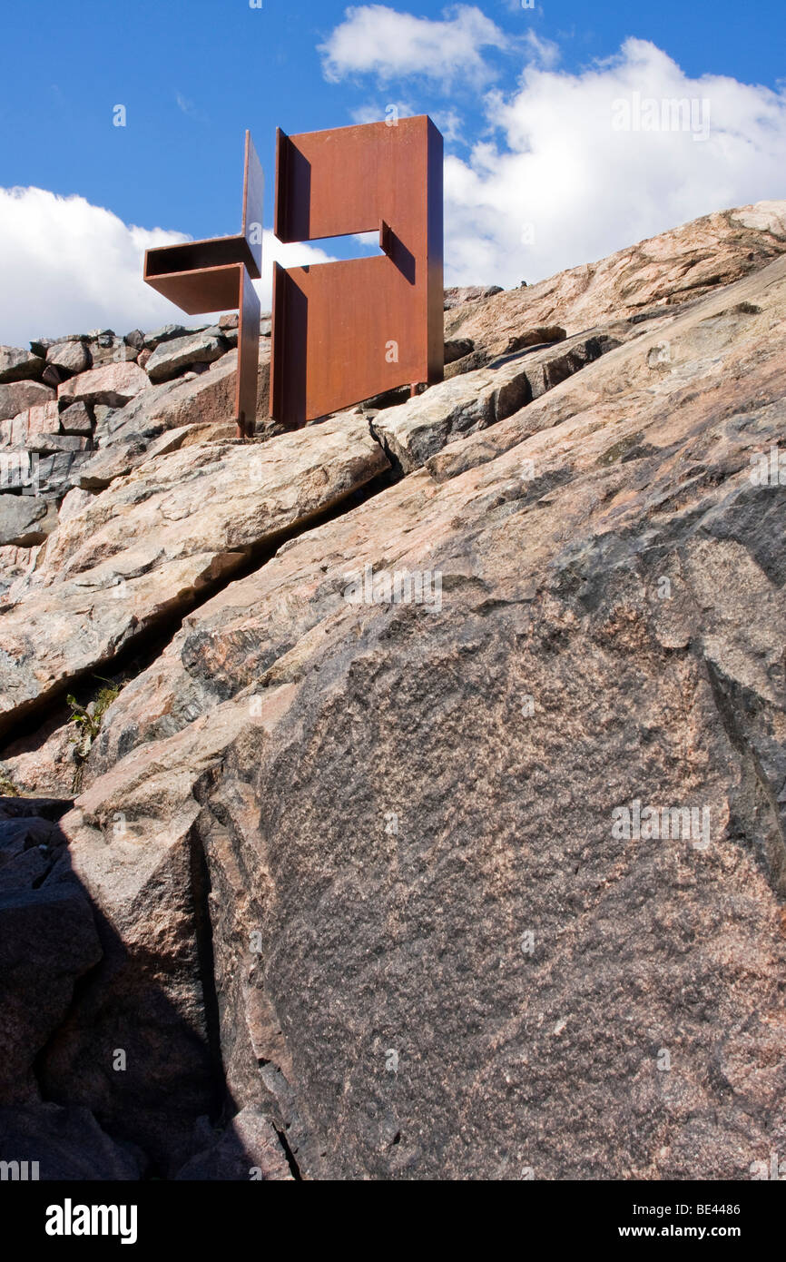 The Temppeliaukio Church, carved in a solid rock, Helsinki, Finland, Europe Stock Photo