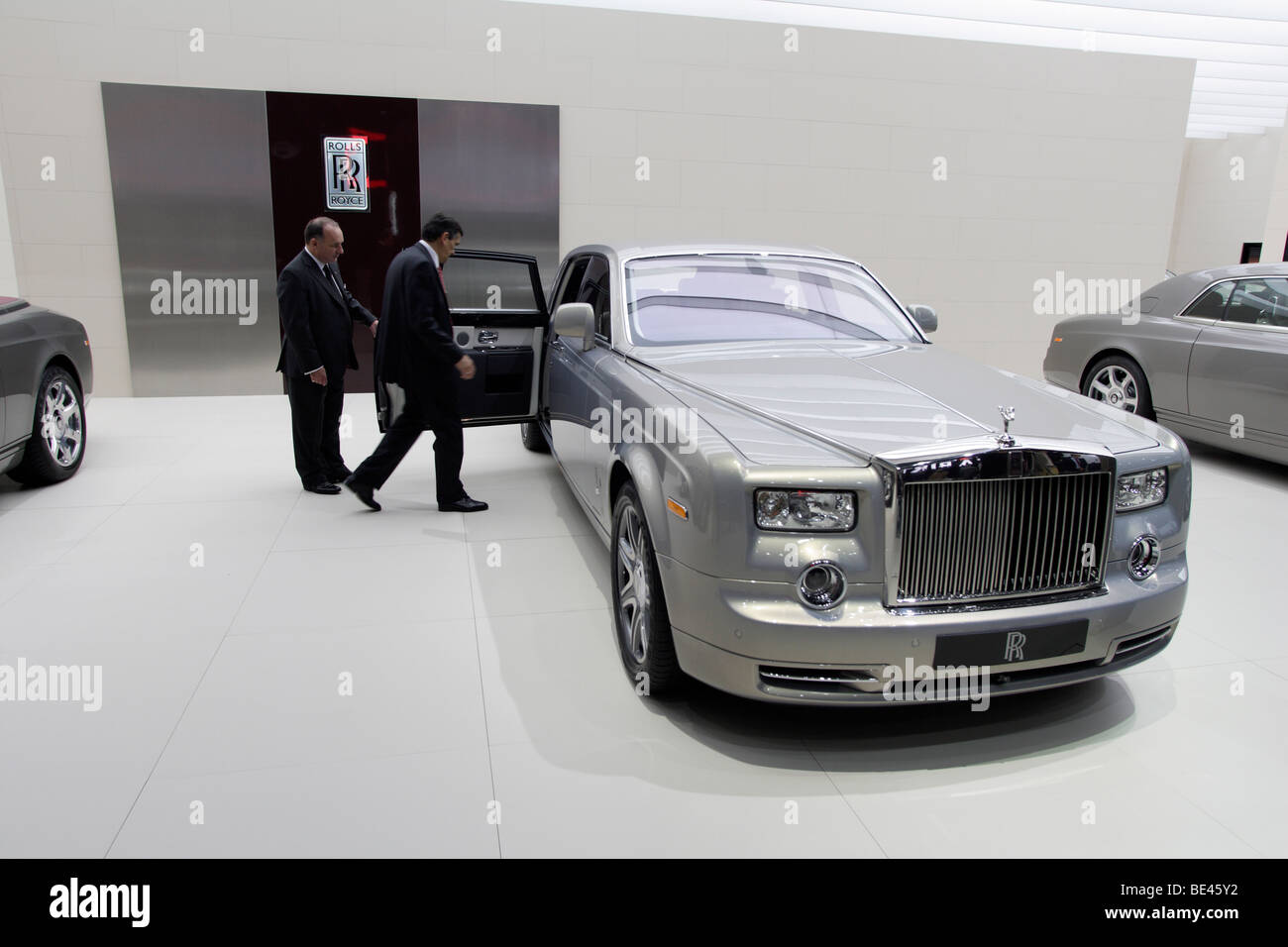 63th International Motor Show ( IAA ): presentation of the car manufacturer Rolls-Royce - Stock Image