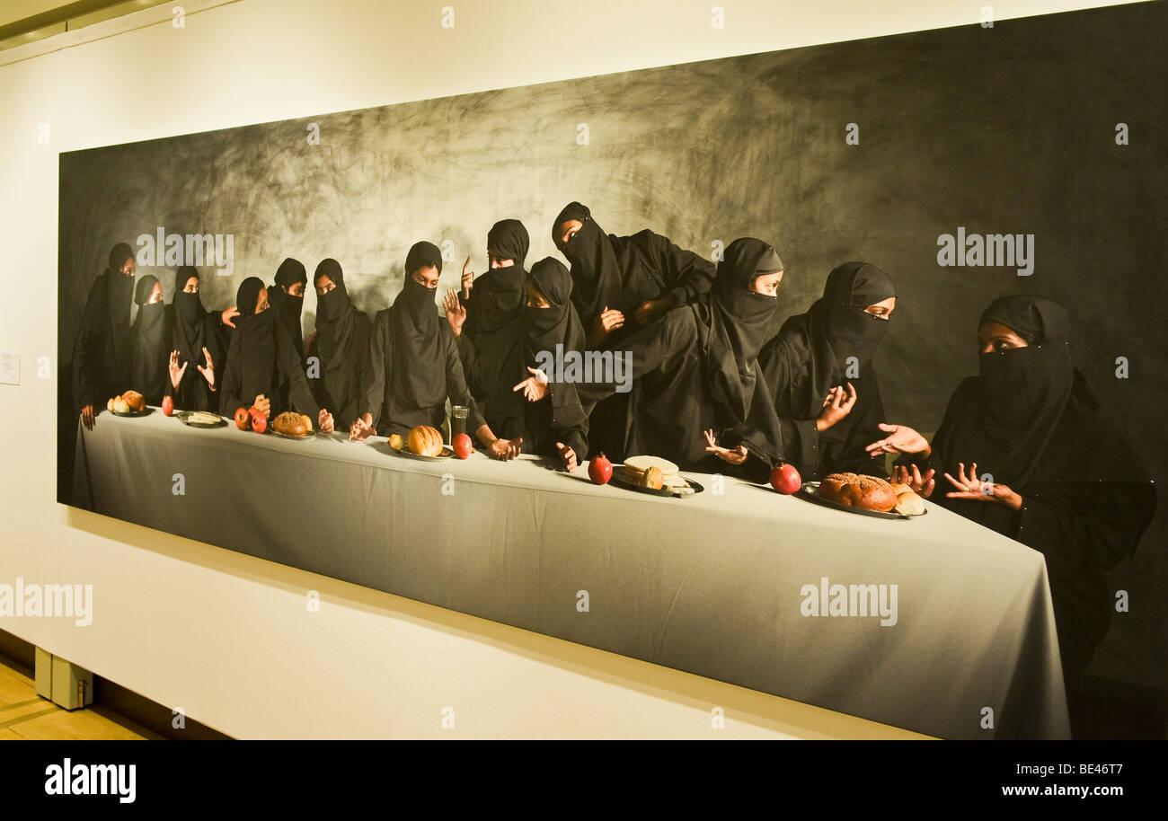 Last Supper - Gaza by Vivek Vilasini - Stock Image