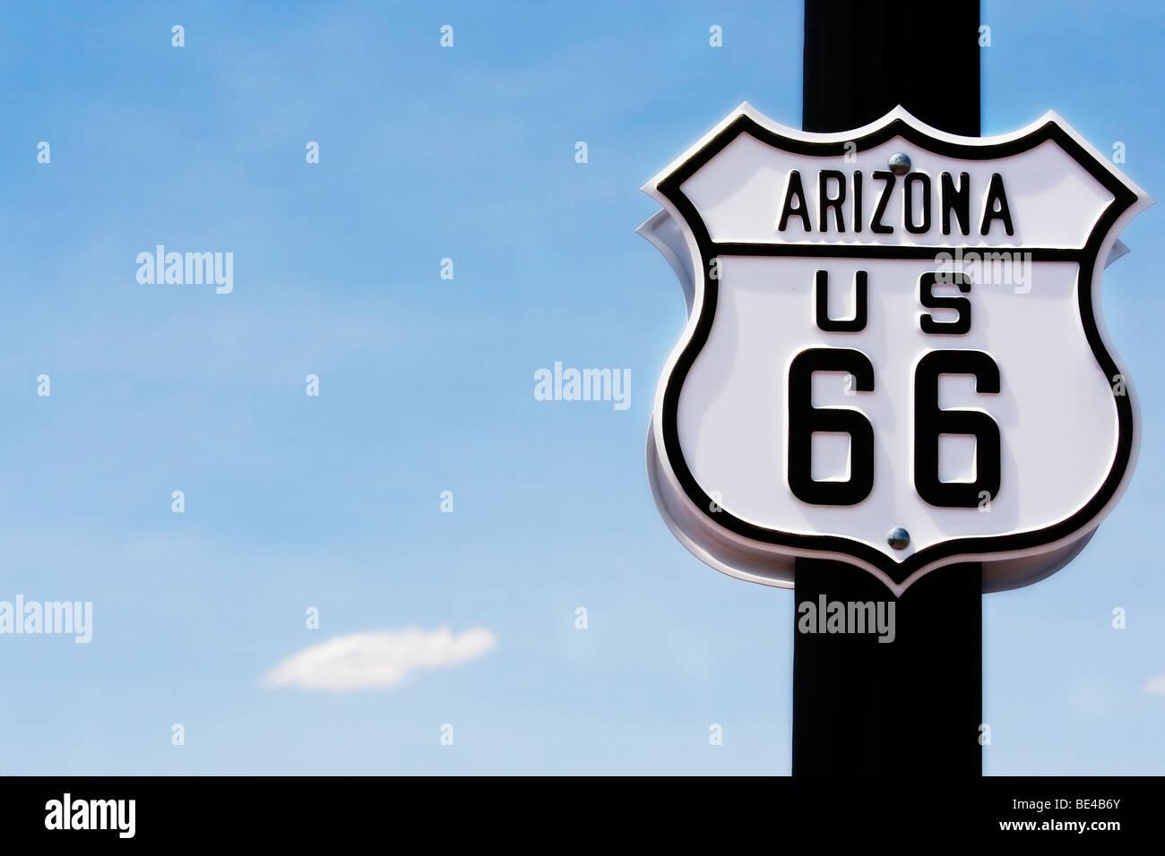 Route 66 - Arizona - Stock Image