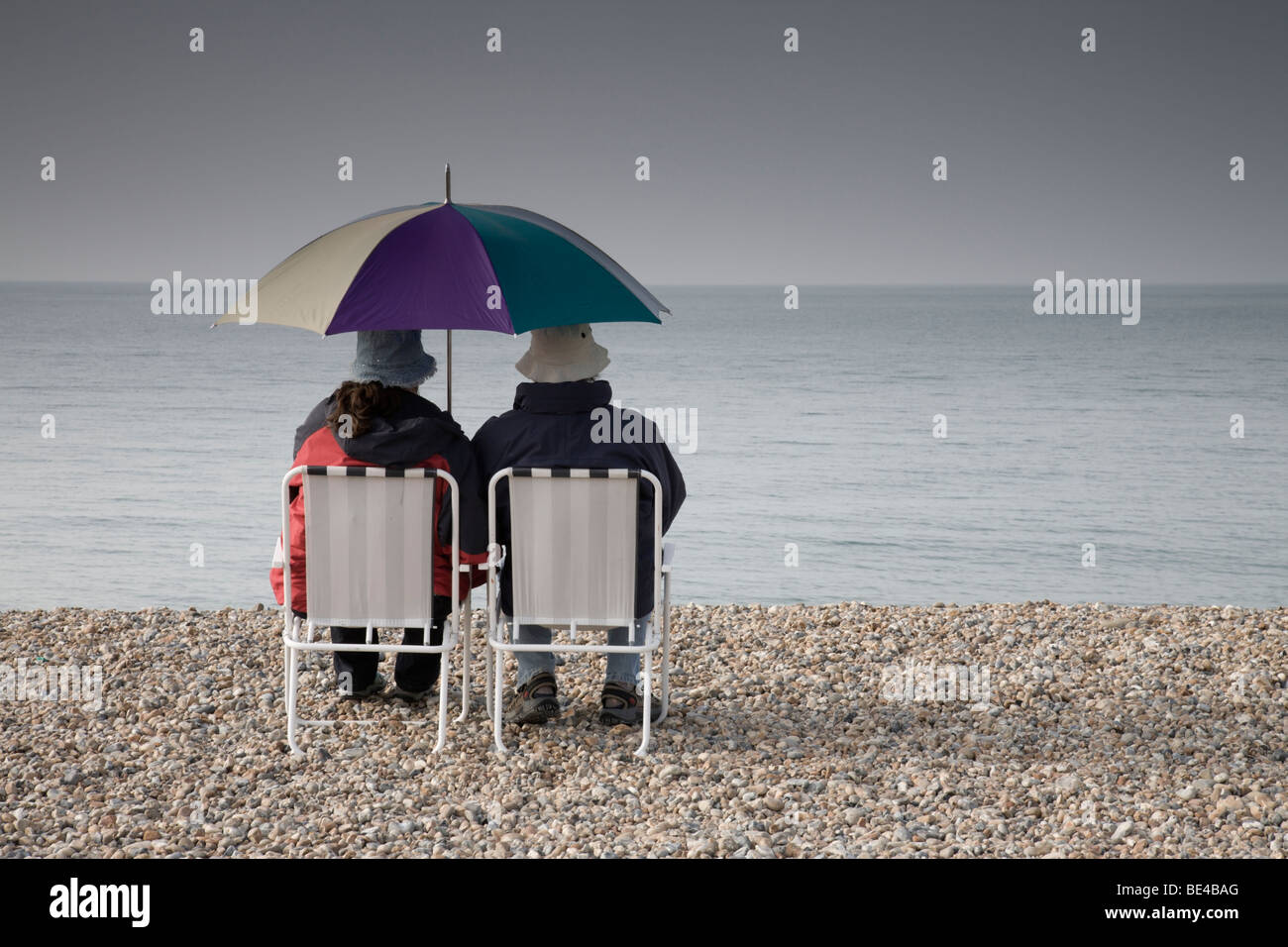 A bleak outlook. - Stock Image