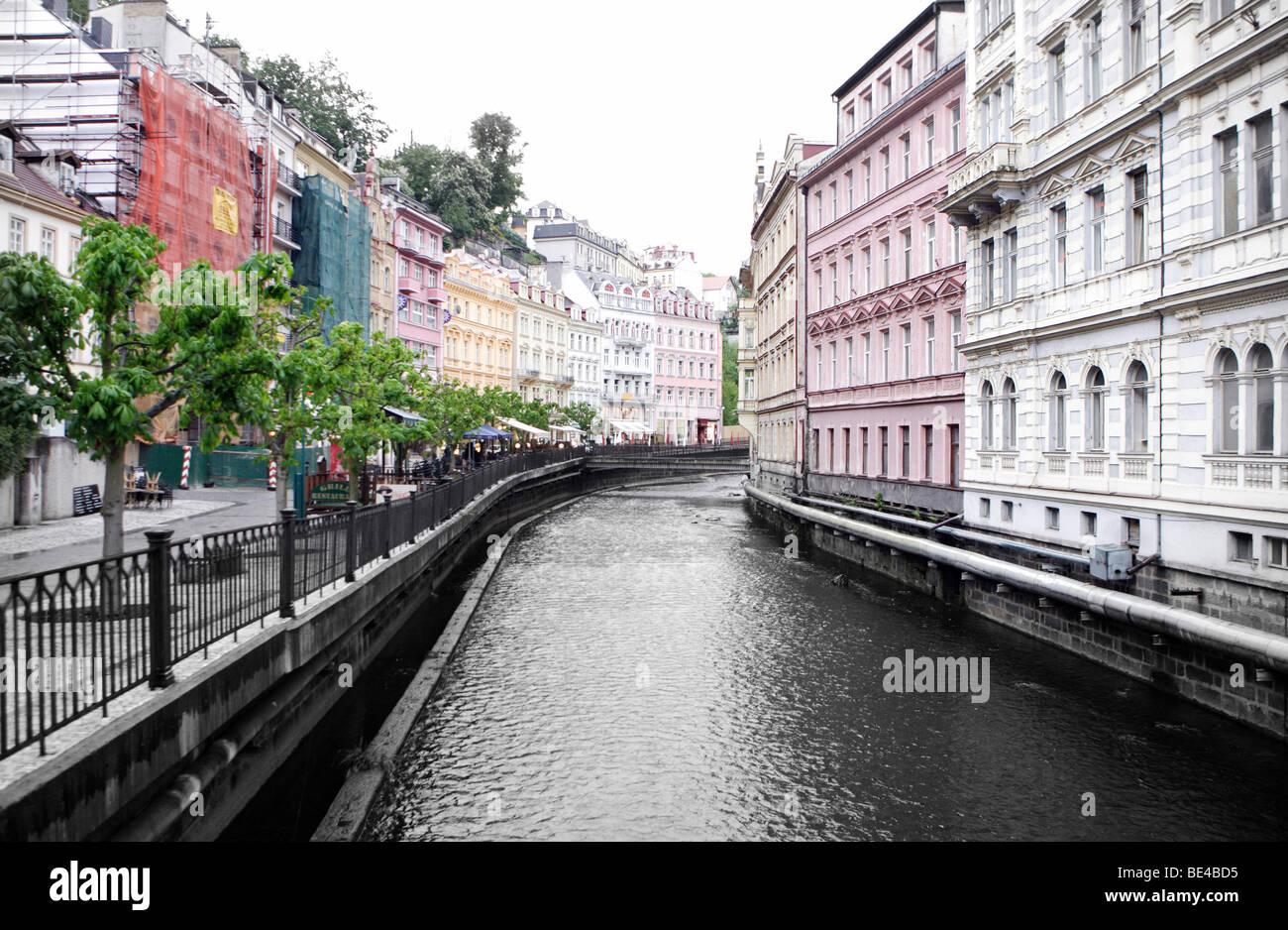 Karlsbad . Tschechien Stock Photo