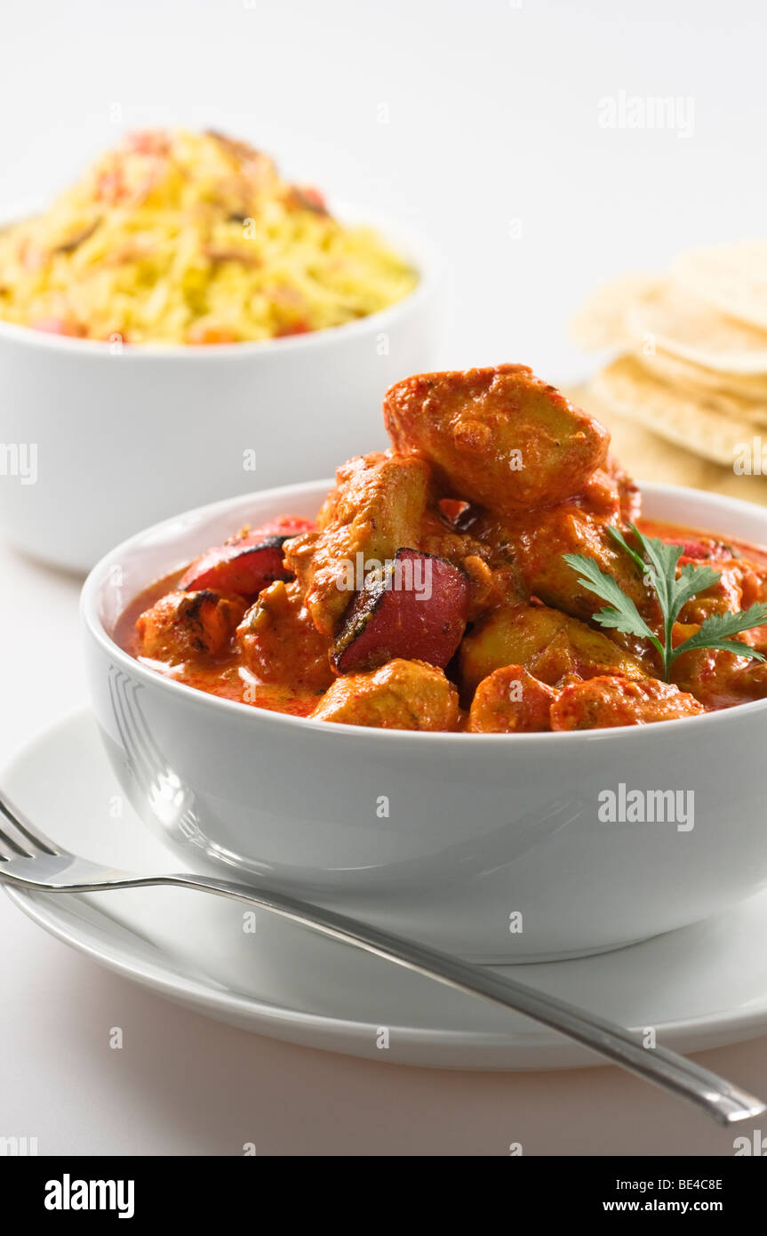Chicken tikka masala India UK Food - Stock Image