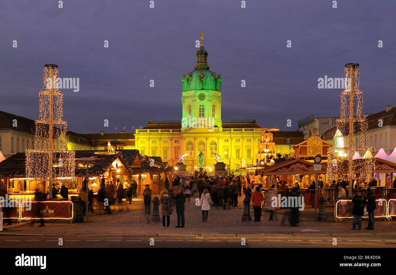 Weihnachtsmarkt Schloss Charlottenburg.Berlin Weihnachtsmarkt Am Schloss Charlottenburg Christmas Market
