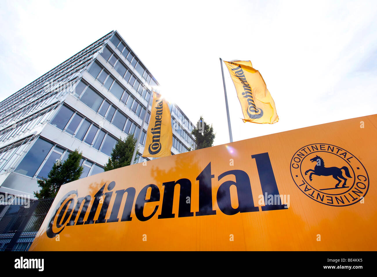Headquarters of the Continental Automotive GmbH company in Regensburg, Bavaria, Germany, Europe Stock Photo