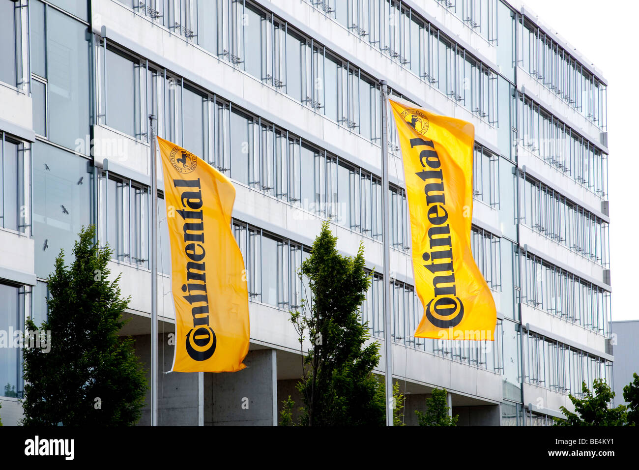 Headquarters of the Continental Automotive GmbH company in Regensburg, Bavaria, Germany, Europe - Stock Image
