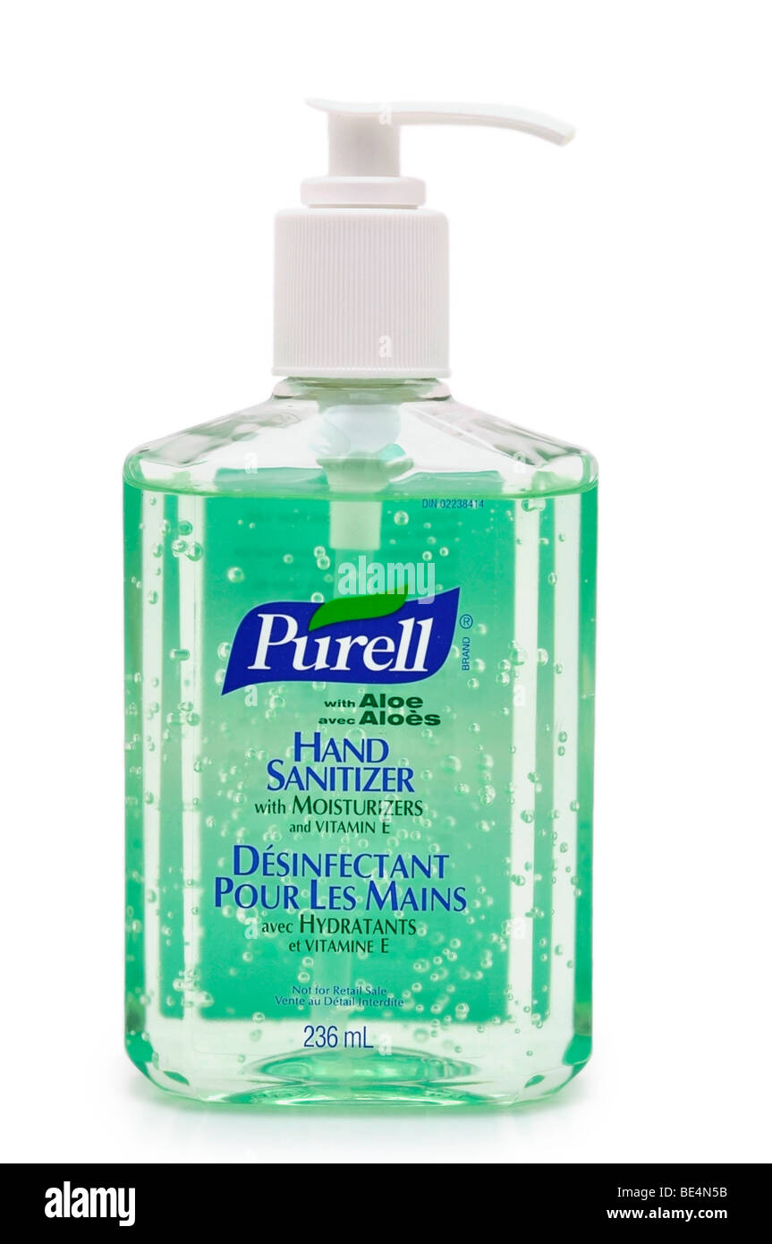 Hand Sanitizer / Disinfectant Gel. - Stock Image