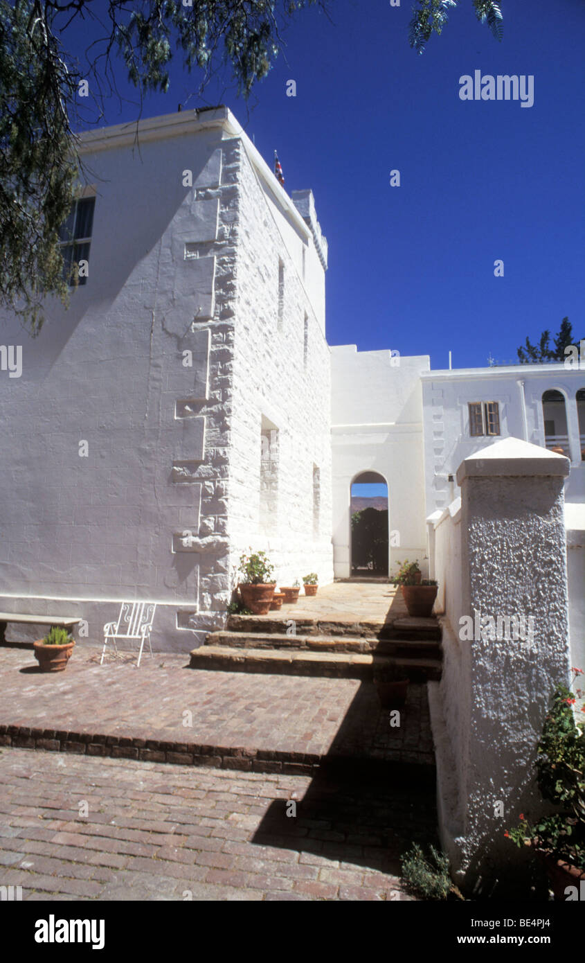 Matjiesfontein Village, Western Cape Province. South Africa - Stock Image
