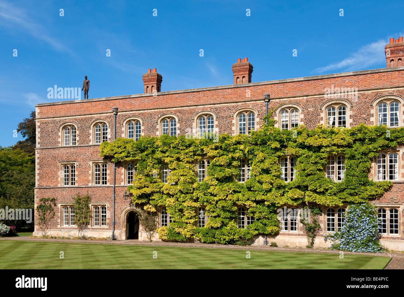 Part of Jesus College in Cambridge (Cambridge University) - Stock Image