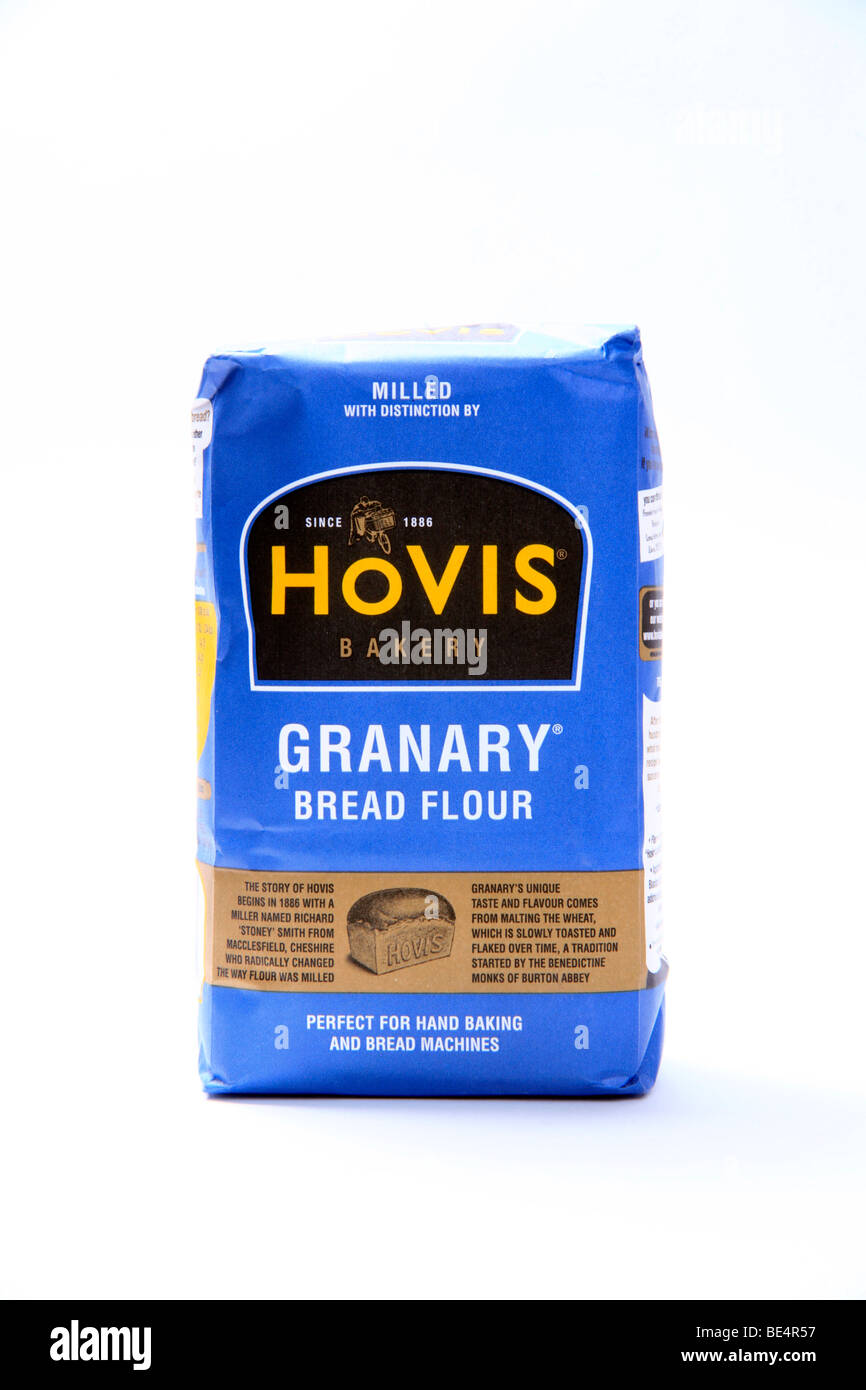 A Packet of Hovis Granary Bread Flour - Stock Image