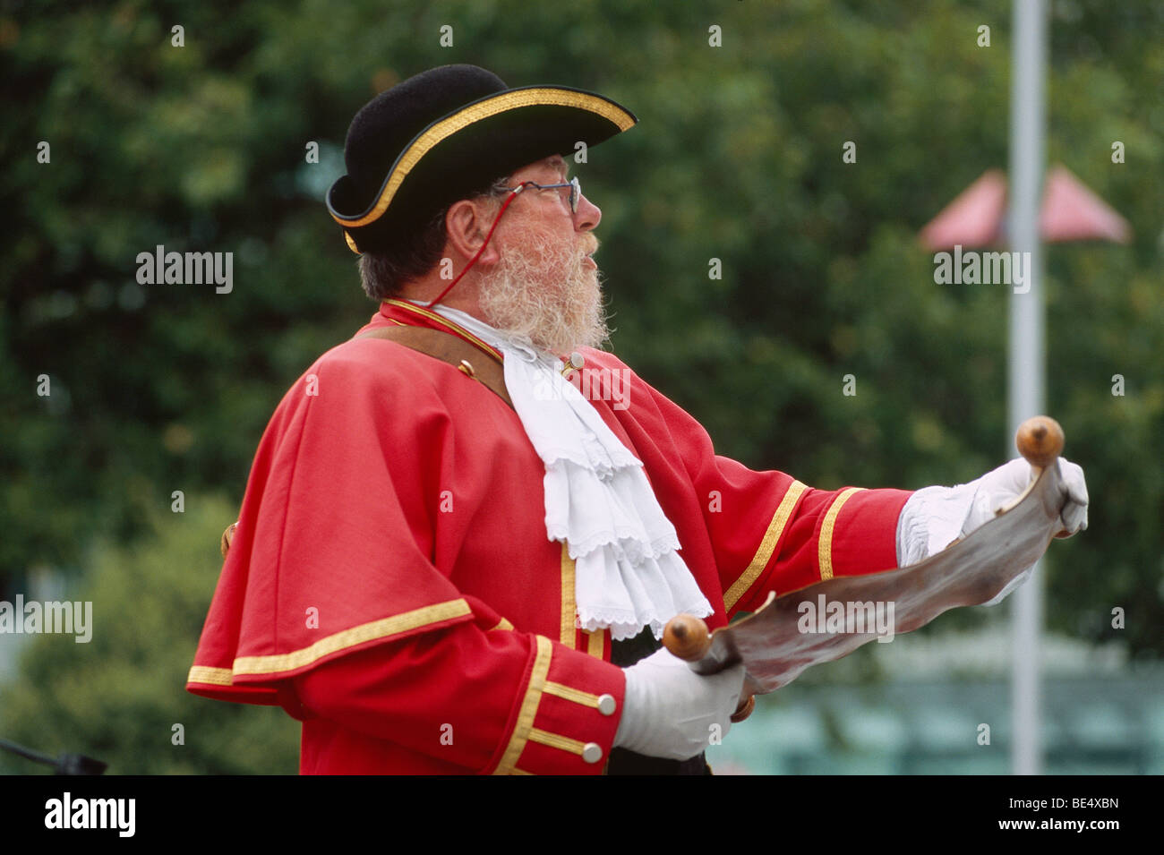 New Zealand - South Island - Canterbury - Christchurch - Town Crier - Stock Image