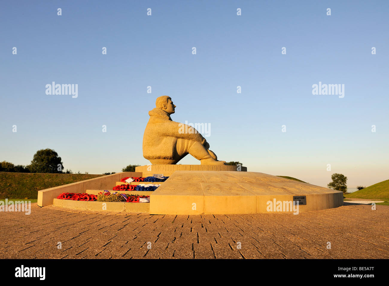 Battle of Britain Memorial at West Malling, Kent, England, UK, Europe Stock Photo