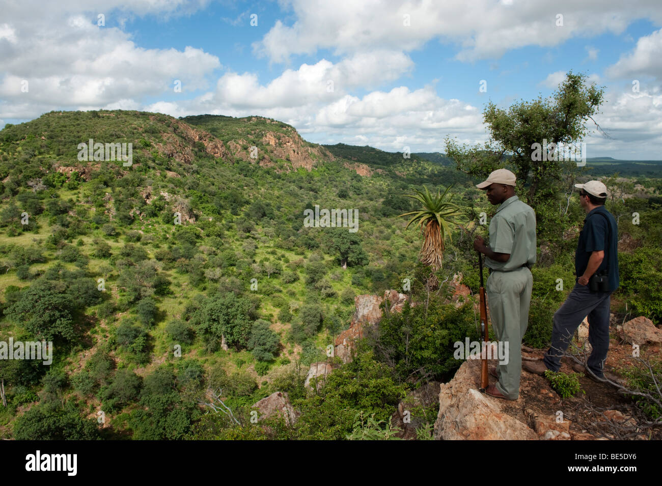 Thulamela archaeological site, Kruger National Park, South Africa - Stock Image