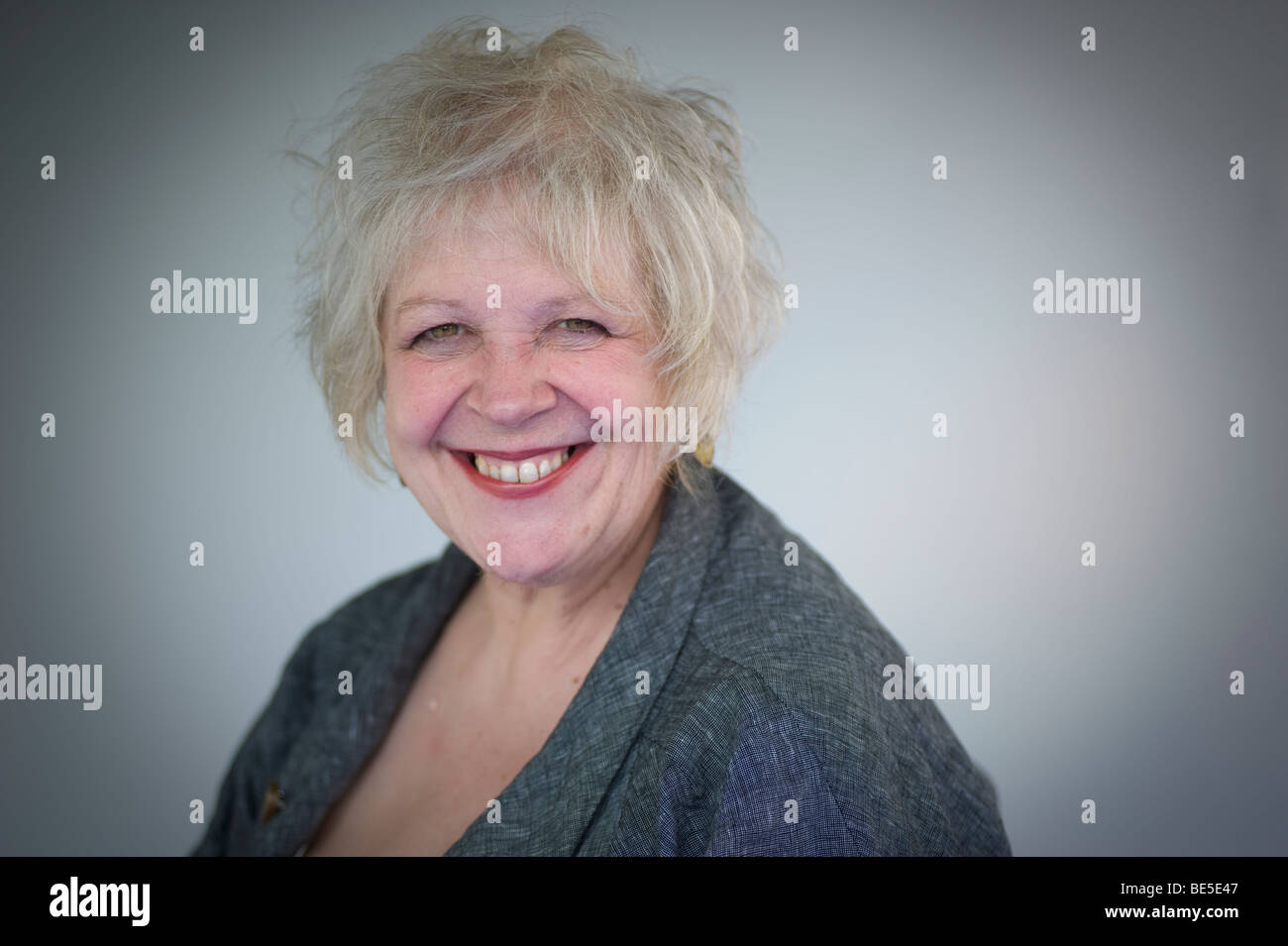 Liz Lochhead at the Edinburgh International Book Festival 2009, Scotland.UK - Stock Image