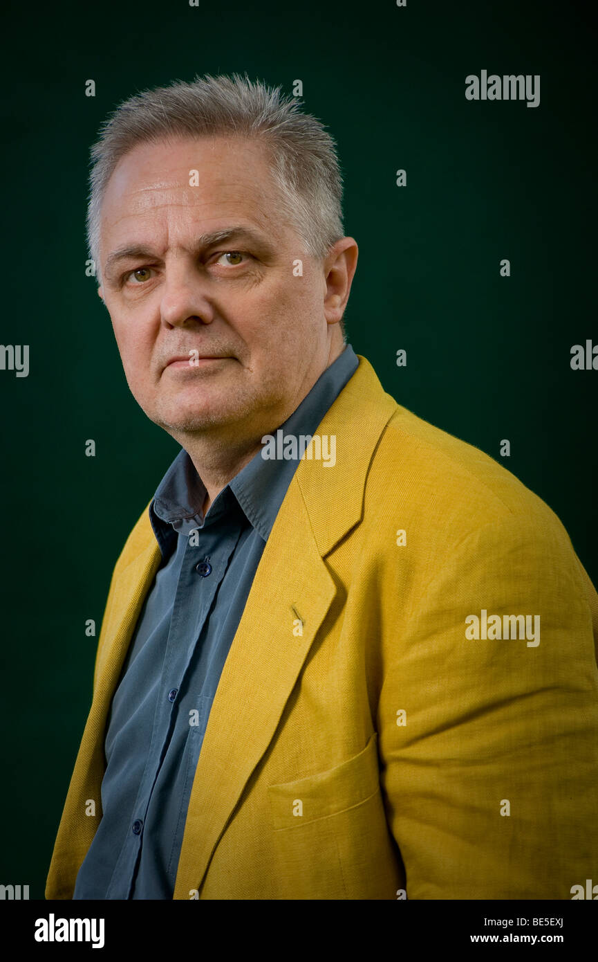 Peter Conrad at the Edinburgh International Book Festival 2009, Scotland.UK - Stock Image