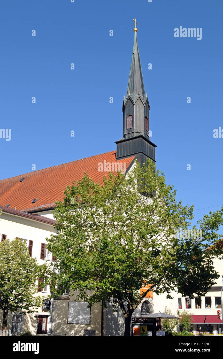 Kunstraum Klosterkirche Traunstein - Stock Image