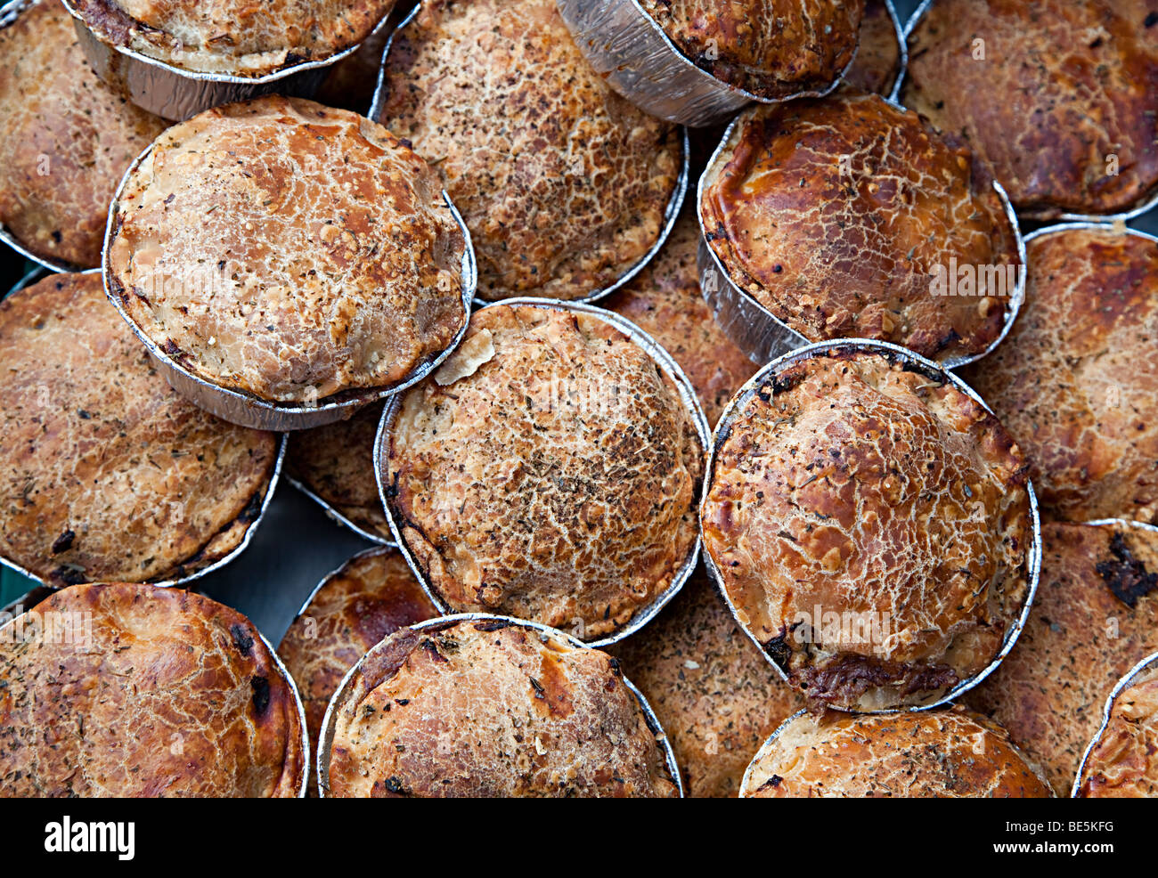 Home made steak pies on sale UK - Stock Image