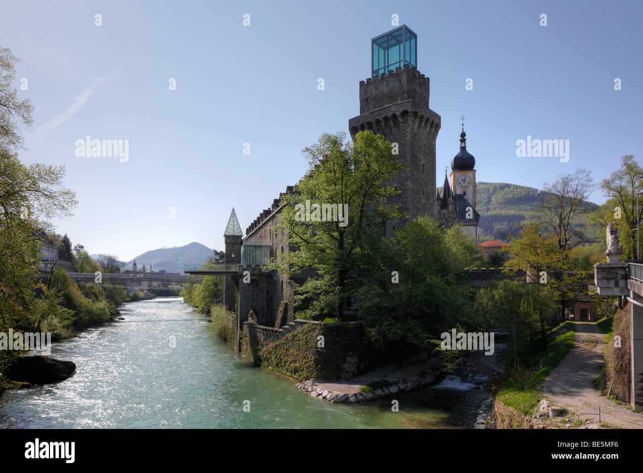 Rothschild Castle, Waidhofen an der Ybbs, Mostviertel, Lower Austria, Austria, Europe - Stock Image