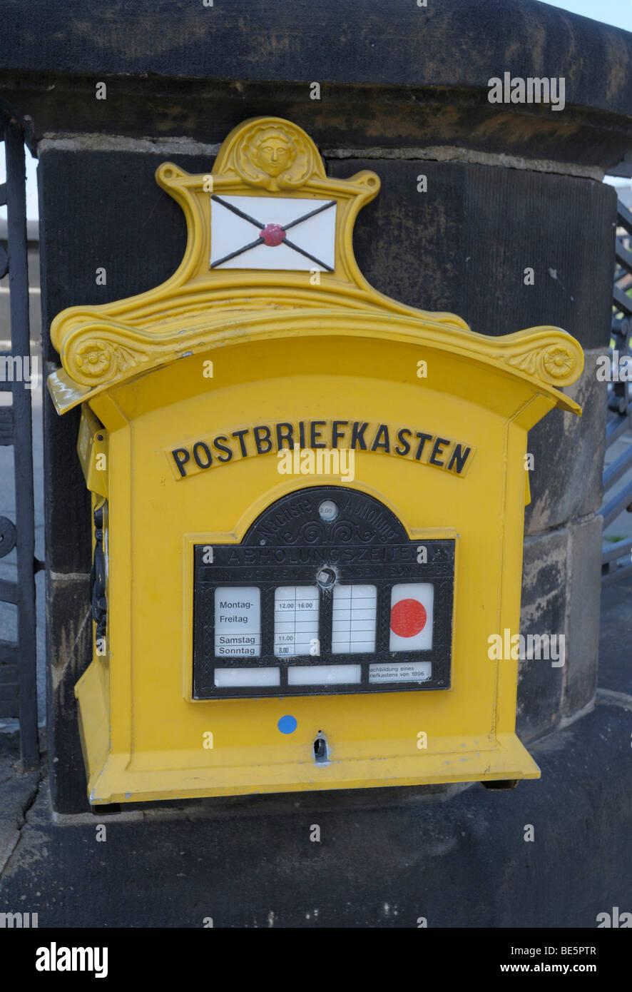 Letter box - Stock Image