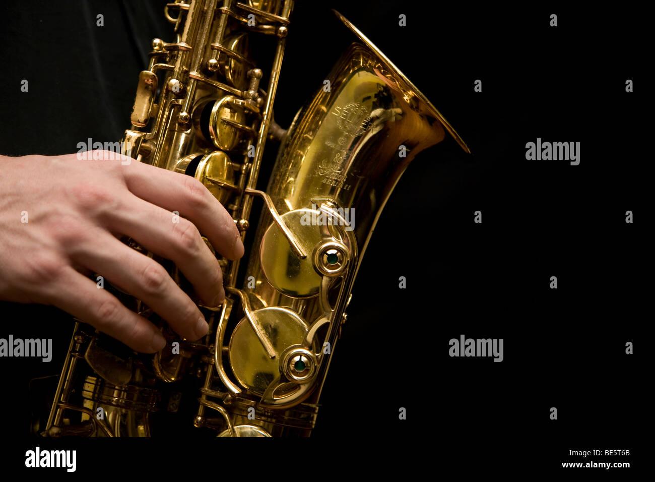 Alto Saxophone Stock Photos & Alto Saxophone Stock Images