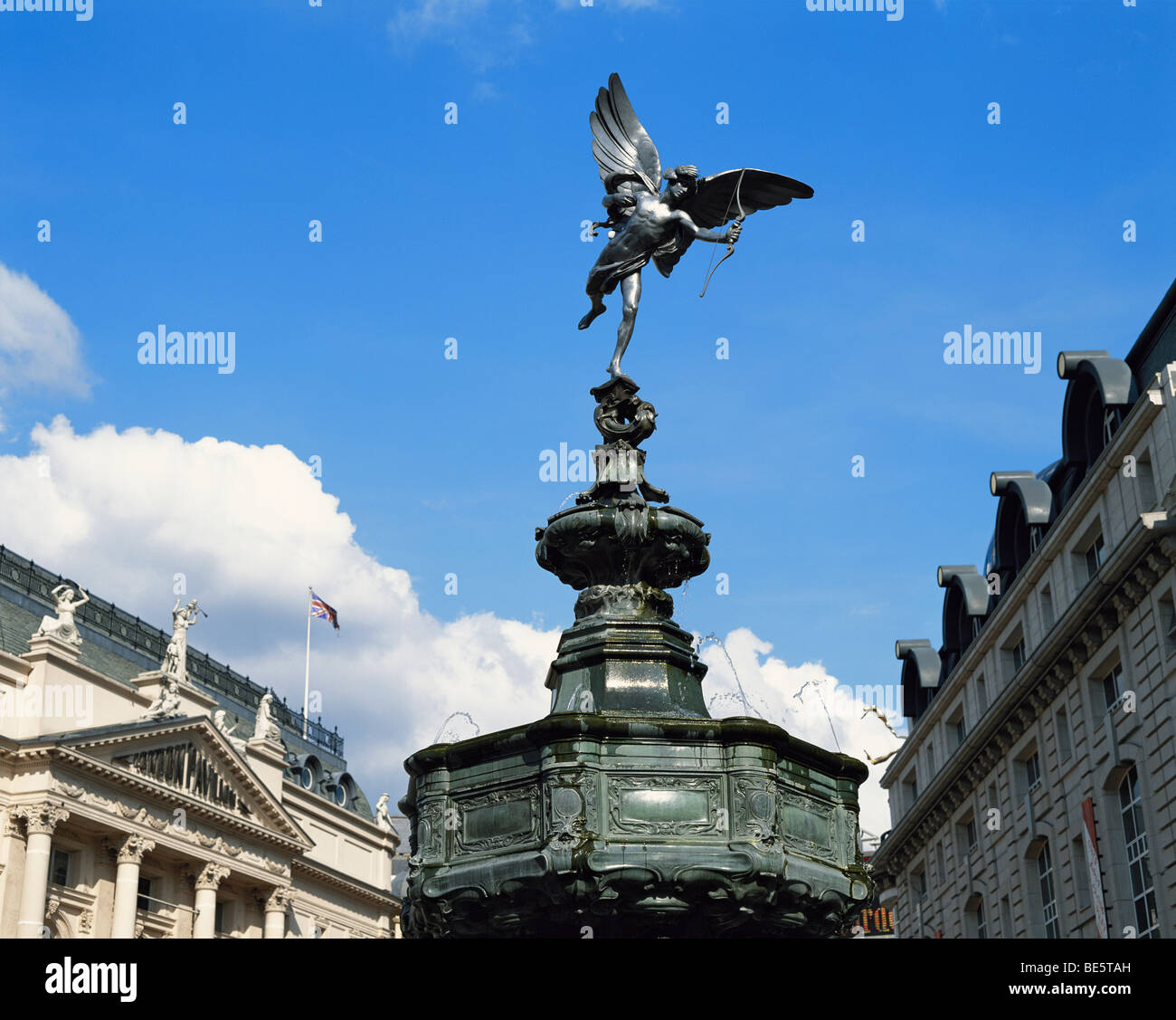 Eros Piccadilly Circus London England GB - Stock Image