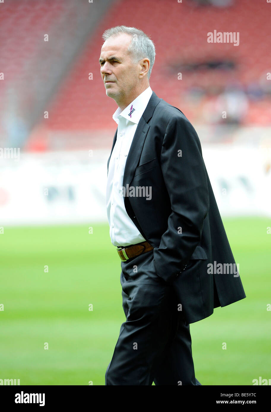 Manager Rolf Dohmen, Karlsruher SC Stock Photo