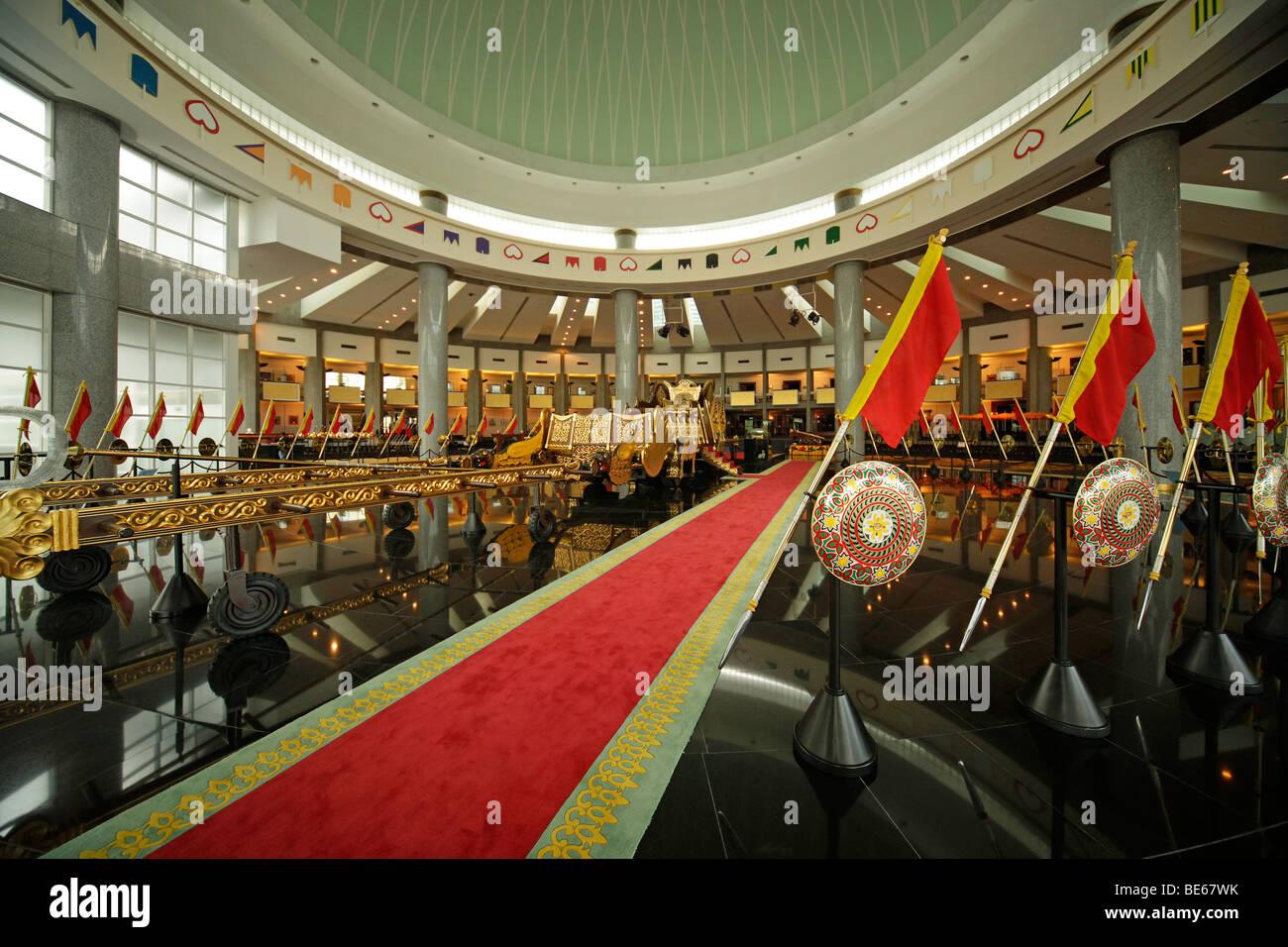 Royal Treasury, Royal Regalia Museum in the capital city, Bandar Seri Begawan, Brunei, Asia - Stock Image