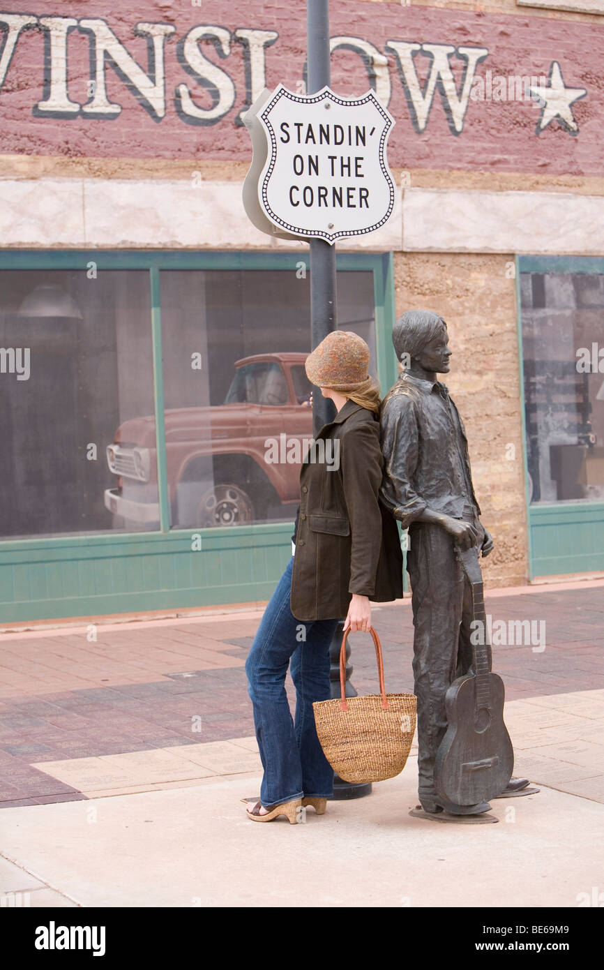 Standing In The Corner : Standing on the corner in winslow arizona united states