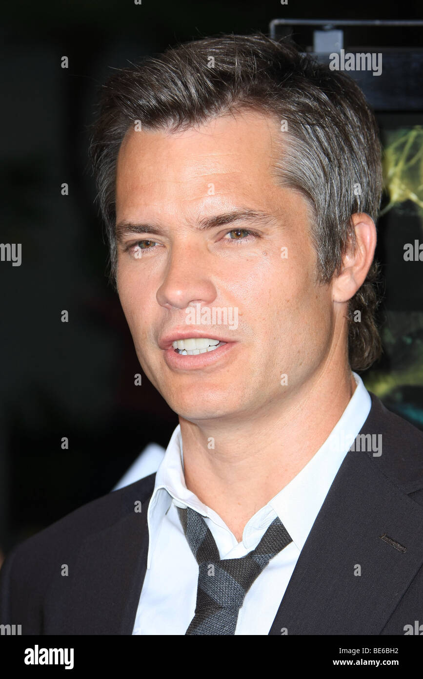 TIMOTHY OLYPHANT A PERFECT GETAWAY WORLD PREMIERE HOLLYWOOD LOS ANGELES CA USA 05 August 2009 - Stock Image