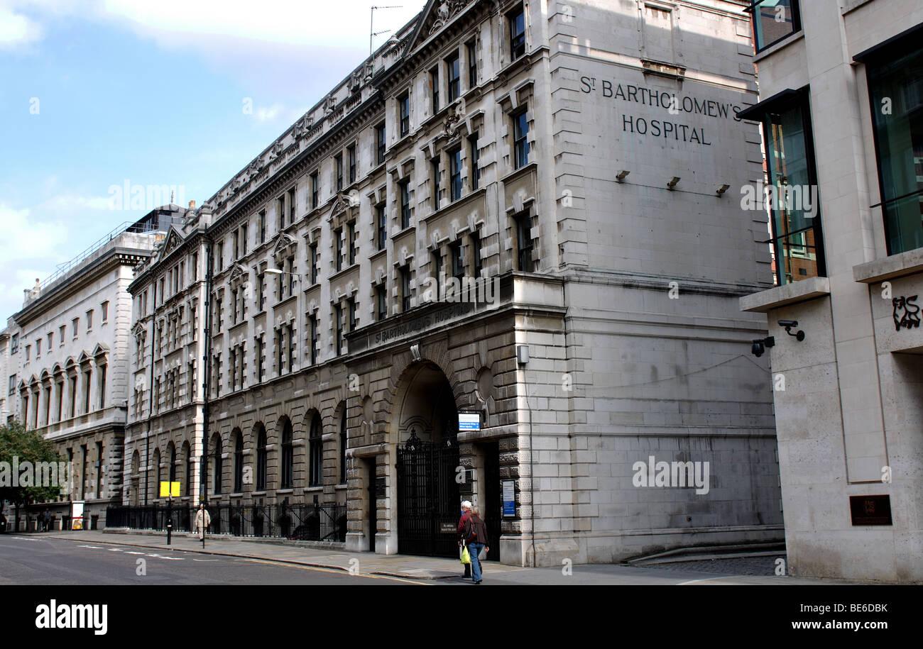 St. Bartholomew`s Hospital, London, England, UK - Stock Image
