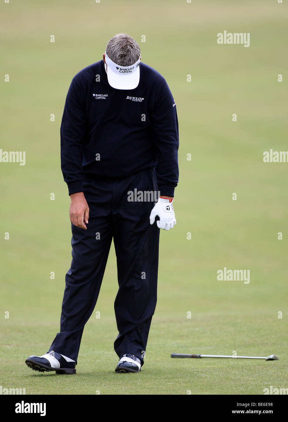 DARREN CLARKE ON 7TH FAIRWAY THE OPEN TURNBERRY 2009 TURNBERRY AYRSHIRE SCOTLAND 18 July 2009 - Stock Image