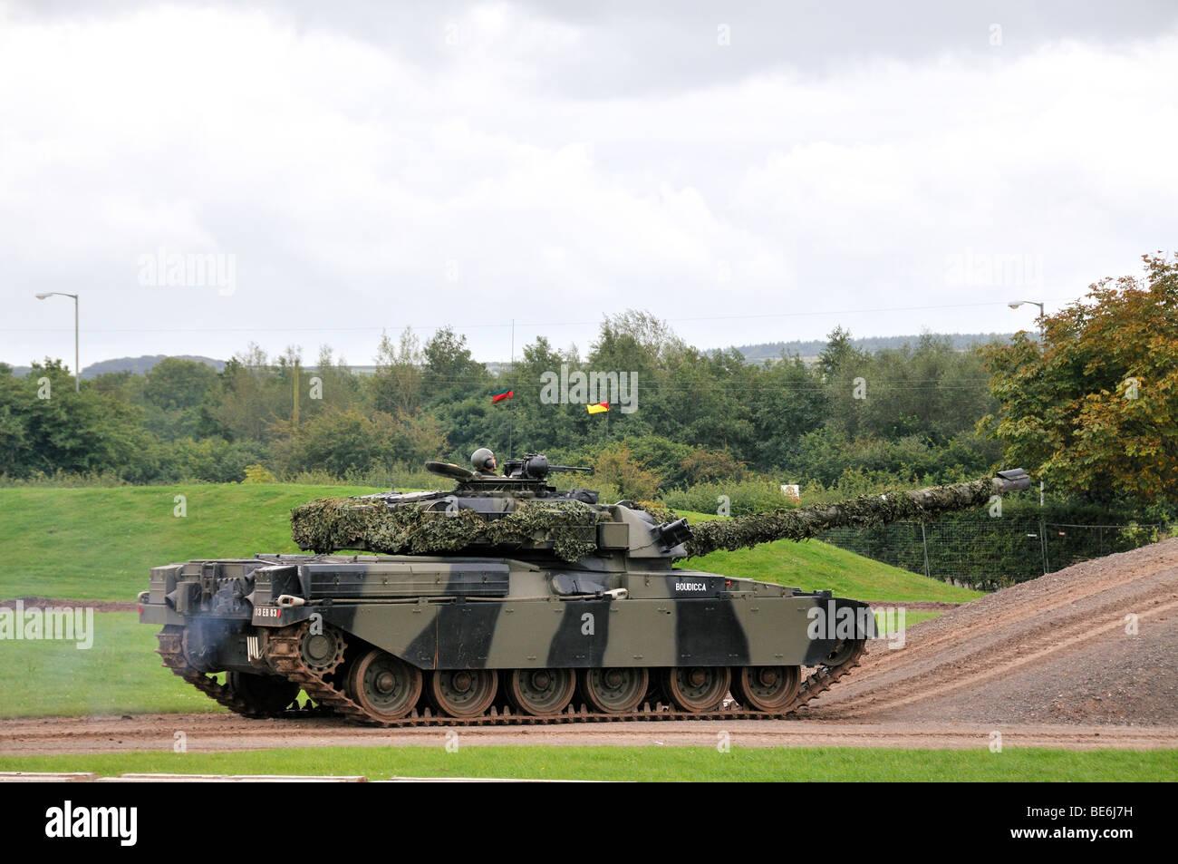 Chieftain British military tank. - Stock Image