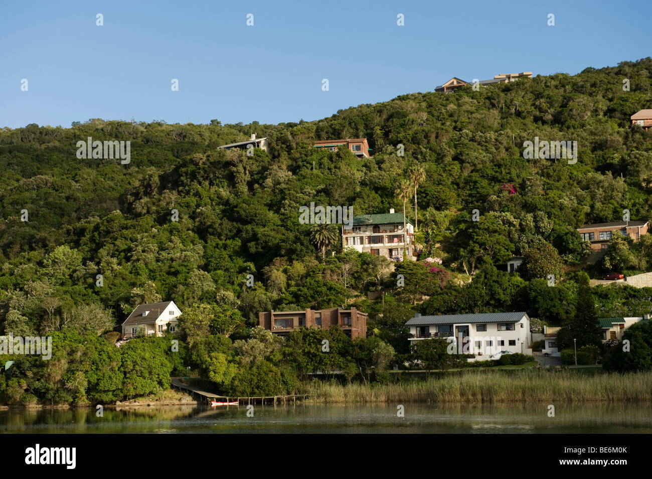 Touw river, Wilderness, Garden Route, South Africa Stock Photo ...