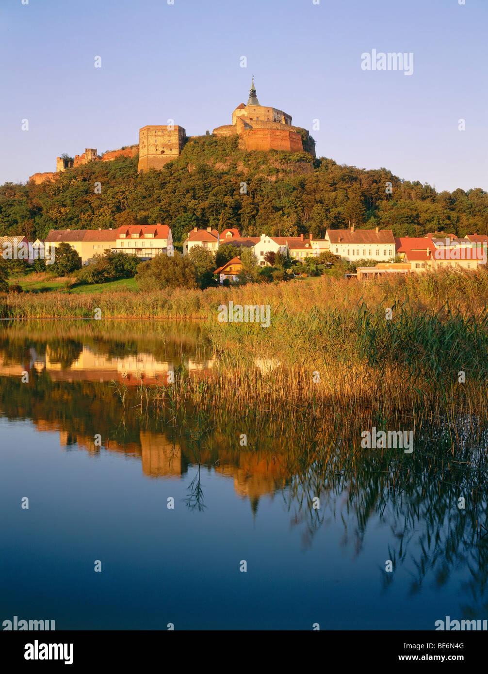 Burg Guessing castle, Burgenland, Austria, Europe - Stock Image