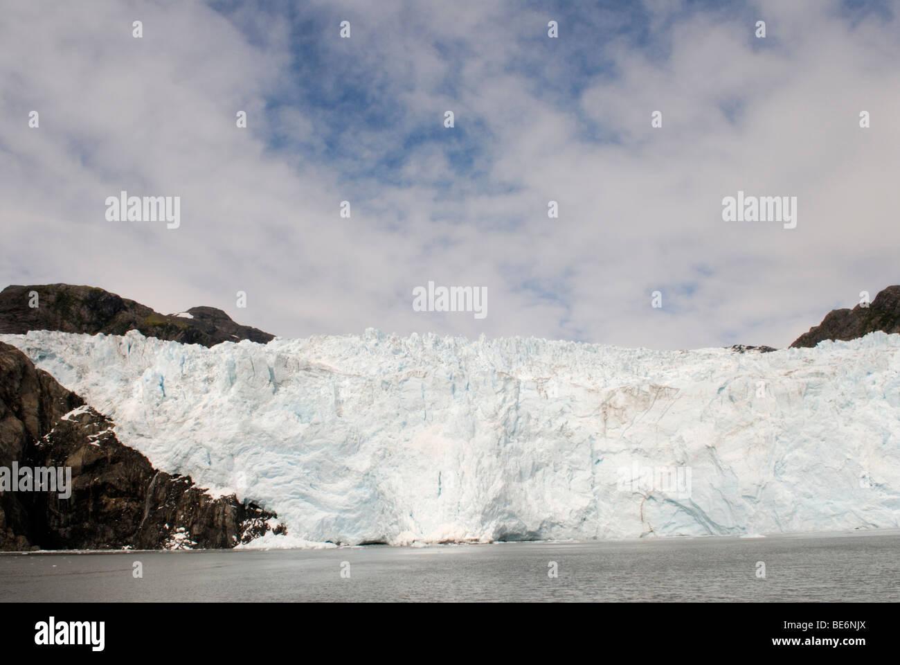 Holgate Glacier, Kenai Fjords National Park - Stock Image