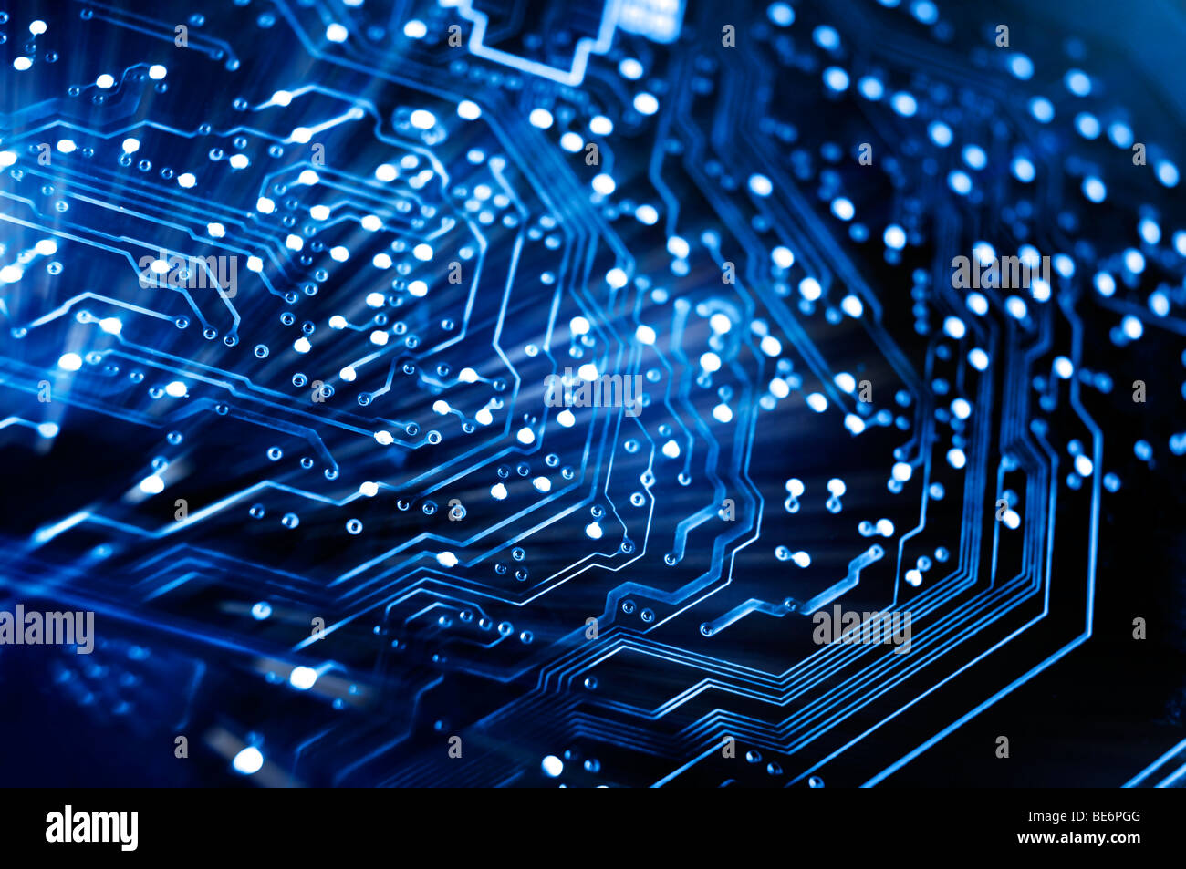 Abstract Circuit Board Stock Photos Old Electronic Royalty Free Image Conceptual Background