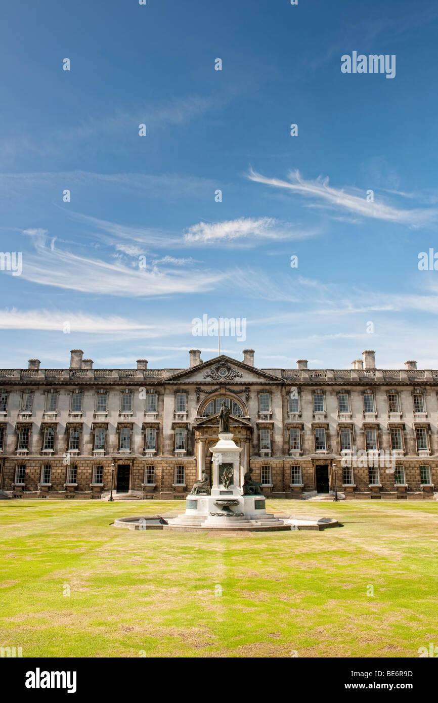 King's College in Cambridge (part of Cambridge University) - Stock Image