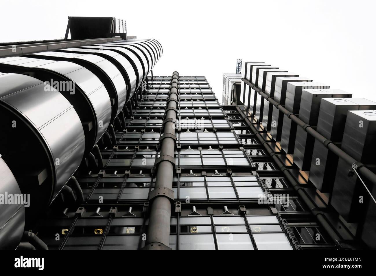 Exterior, headquarters of Lloyds, London, England, United Kingdom, Europe - Stock Image