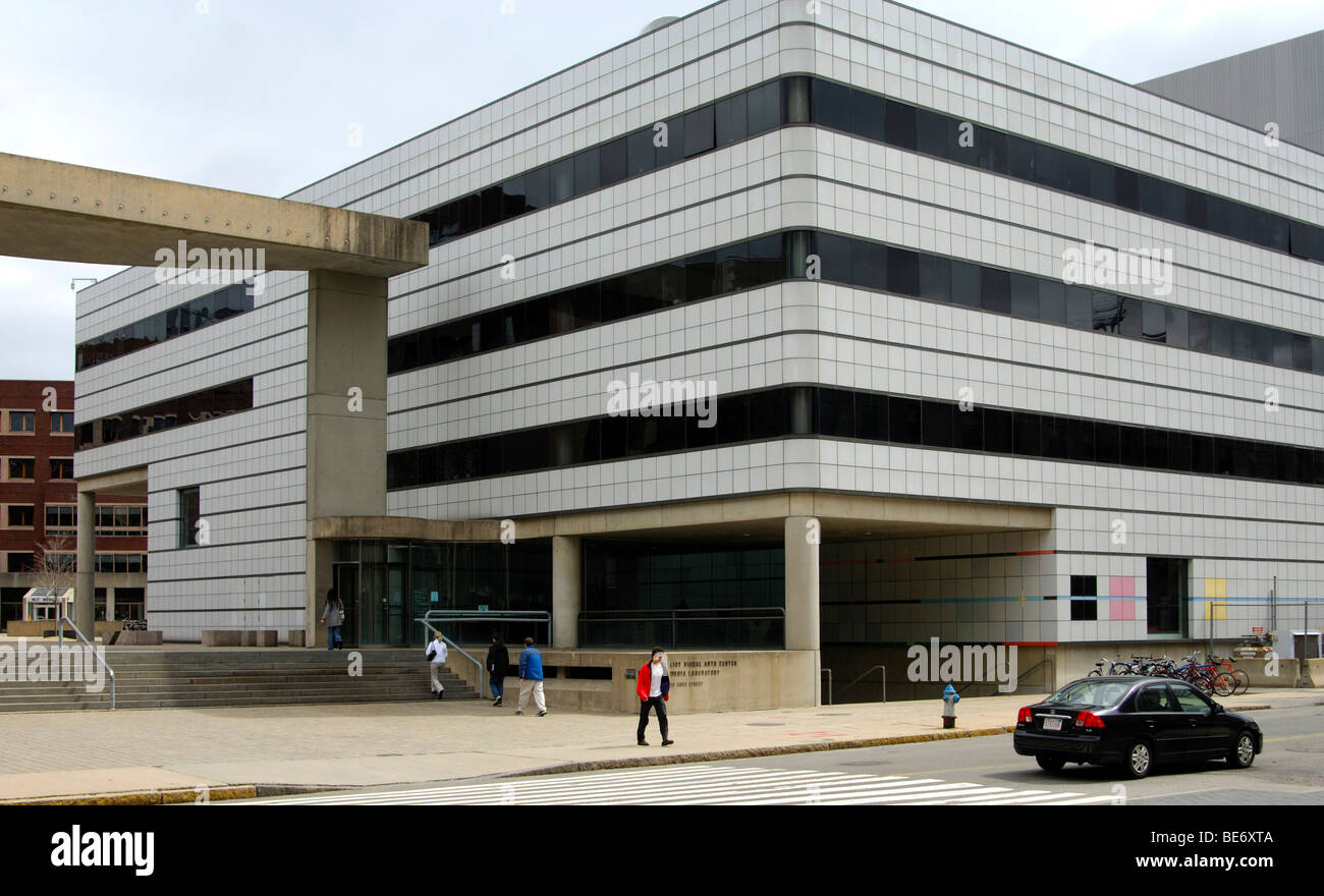 Building of the MIT Media Lab, Massachusetts Institute of Technology, MIT, Cambridge, Massachusetts, USA - Stock Image