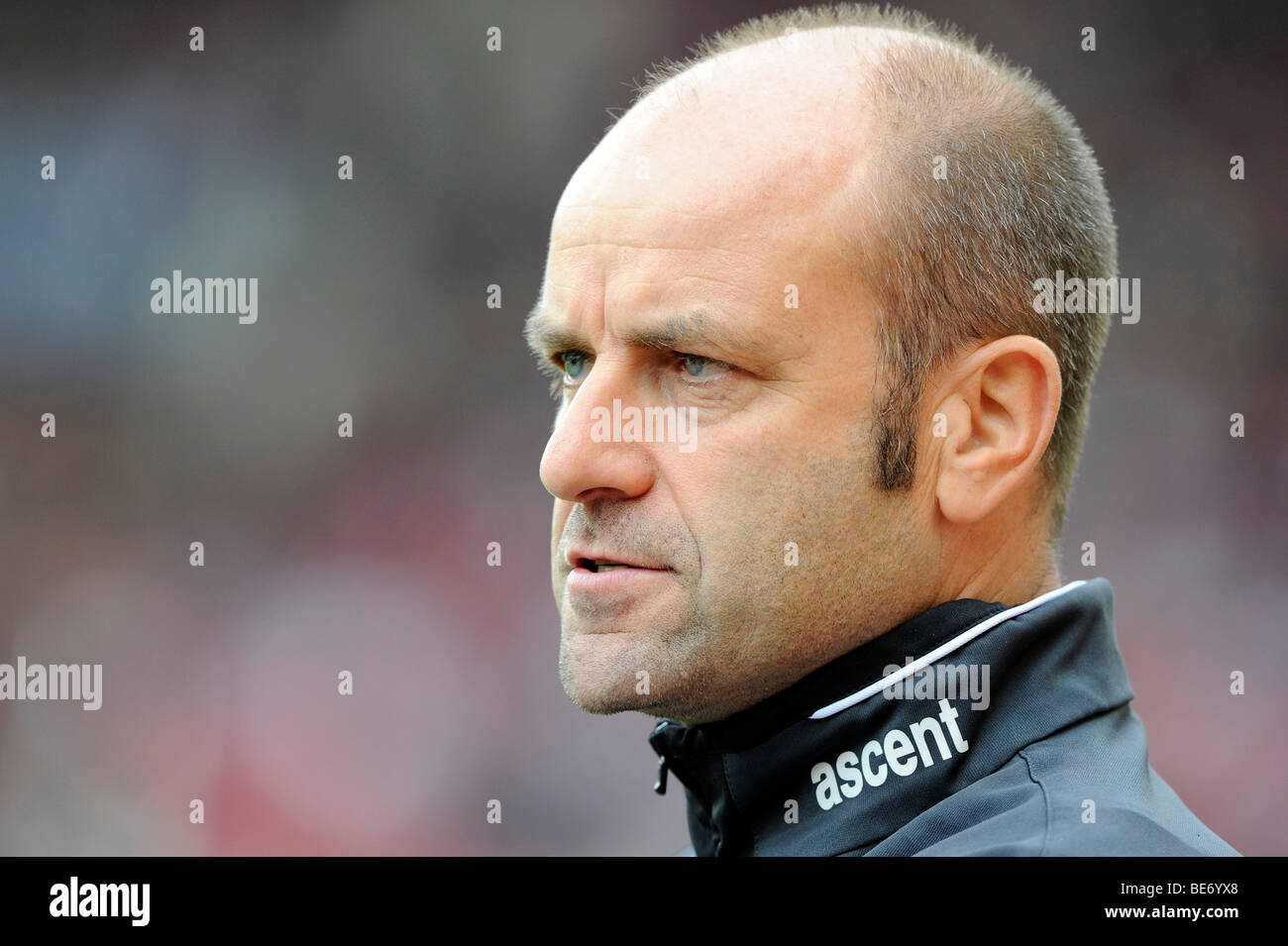 Coach Edmund Becker, Karlsruher SC - Stock Image