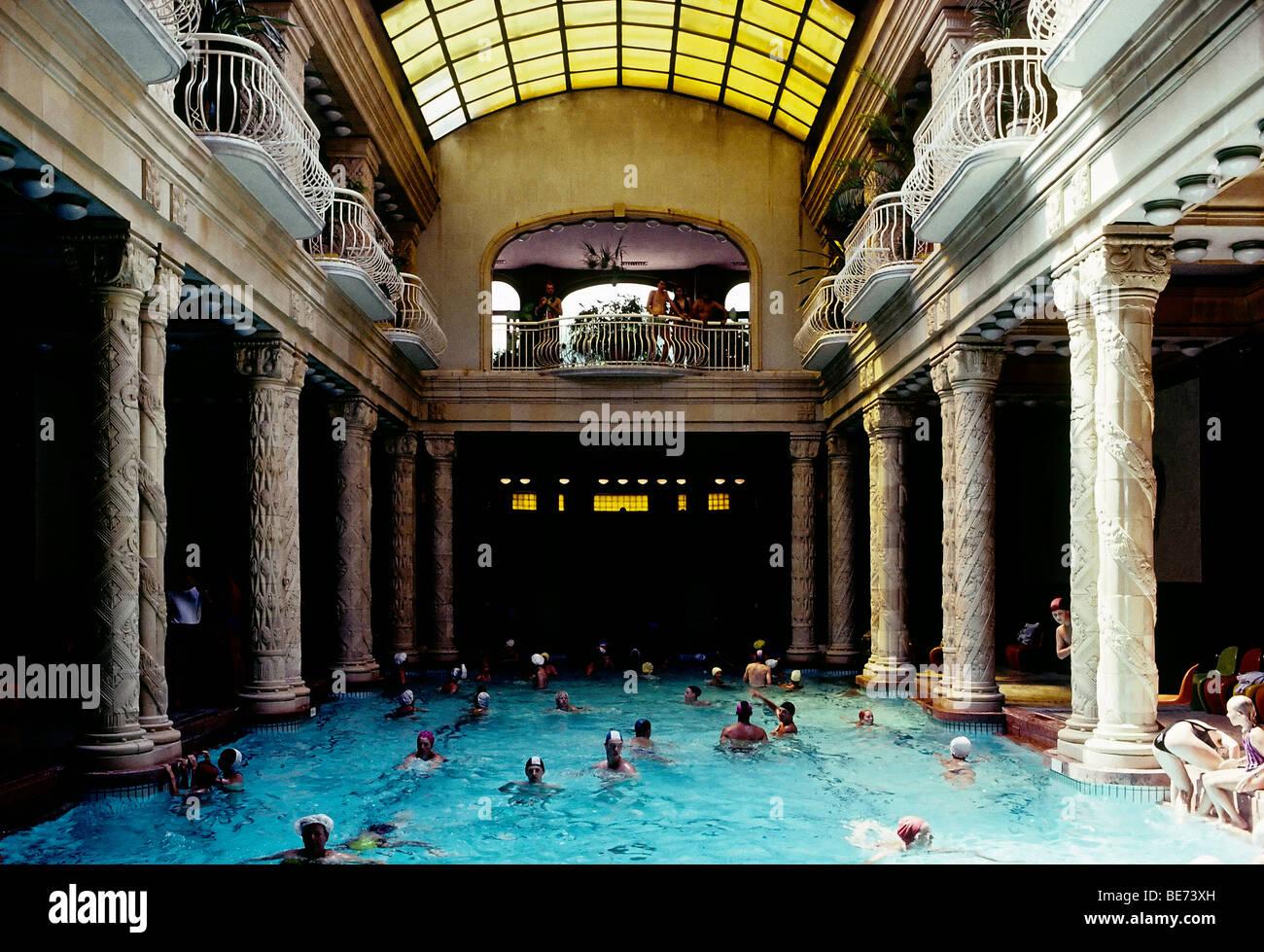Gellert Bath Stock Photos & Gellert Bath Stock Images - Alamy