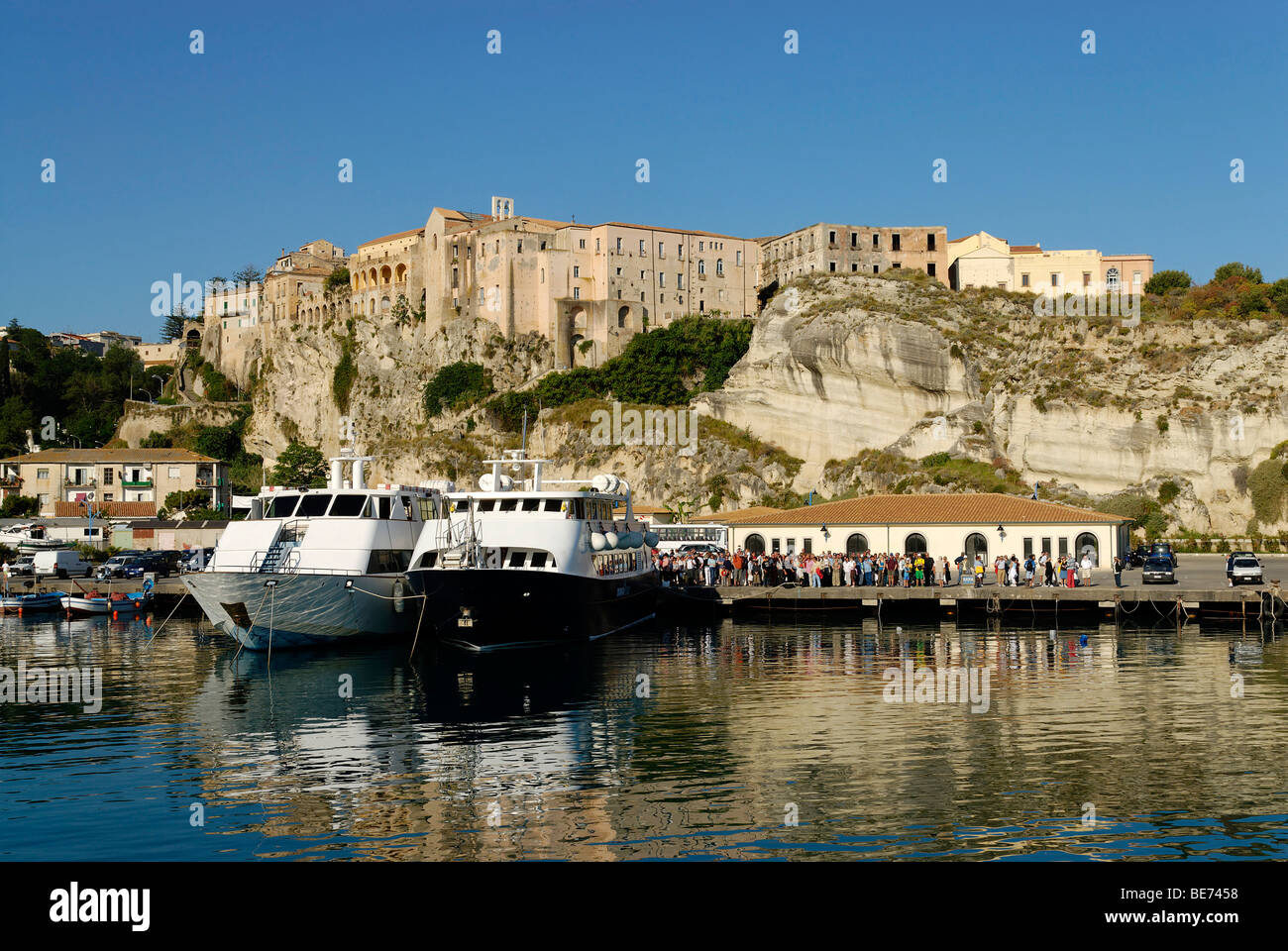 Pizzo at the Tyrrhenian Sea, Calabria, Italy, Europe - Stock Image