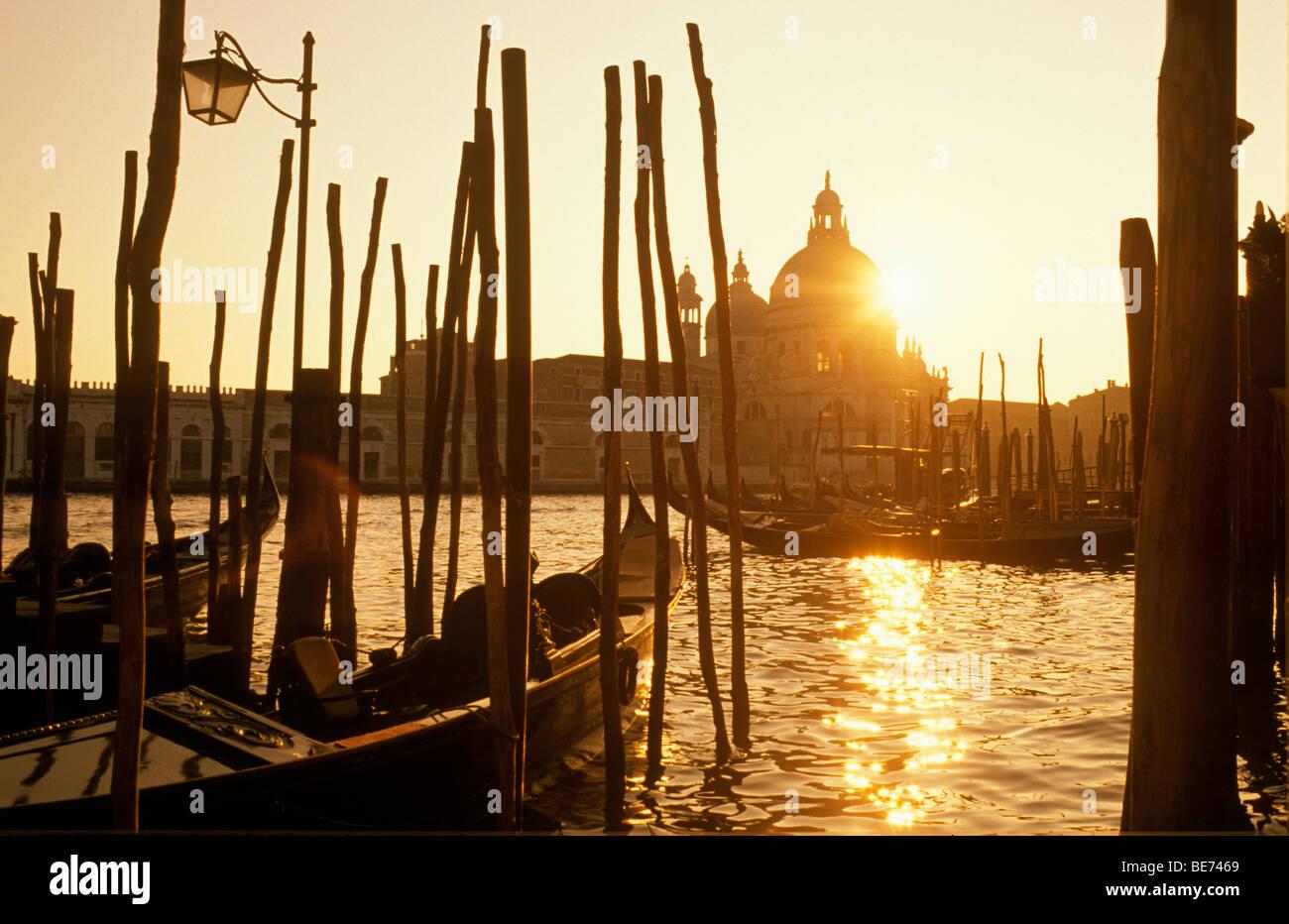 Santa Maria della Salute, Venice, Veneto, Italy, Europe - Stock Image