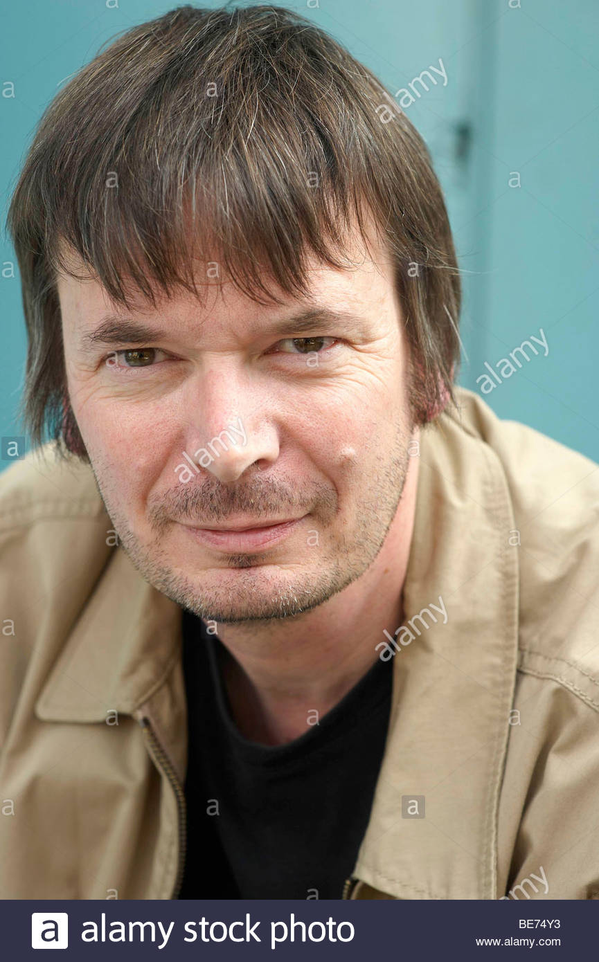 Ian Rankin ,Scottish author and Crime Writer of the Rebus Books in Edinburgh. - Stock Image