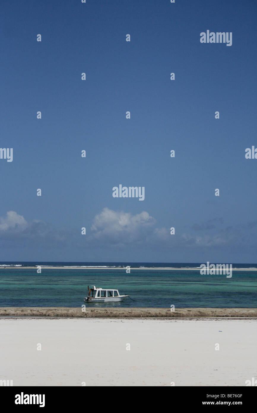 Diani Beach Mombasa, Kenya, Africa - Stock Image