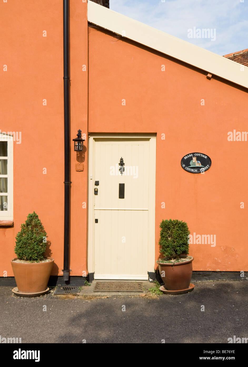 Door Lavenham Suffolk UK - Stock Image